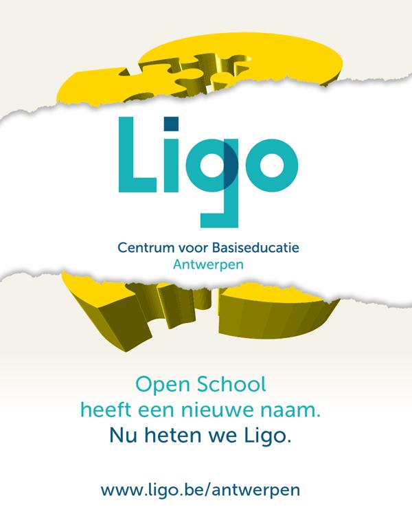 Open School Antwerpen is nu Ligo